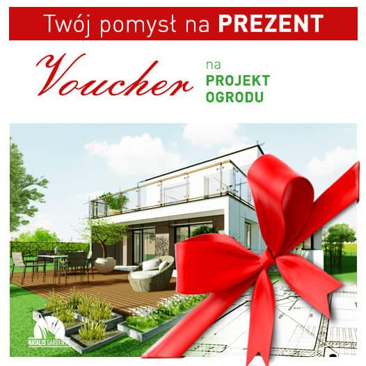 Voucher prezentowy Projekt ogrodu